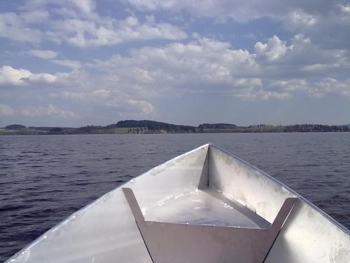 Angelforum thema anzeigen eigenbau alu boot bericht for Rotfeder gartenteich
